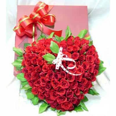 mẫu hoa trái tim HH-007