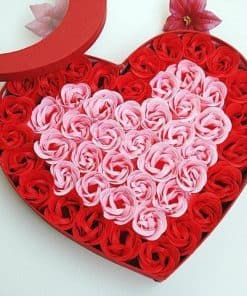 hộp hoa trái tim HH-015