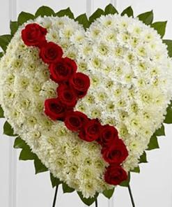 hoa chia buồn HK-013