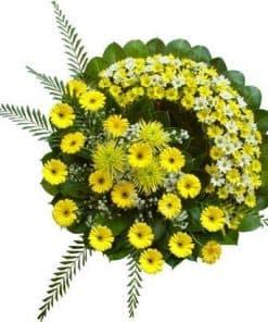 vòng hoa viếng HK-014