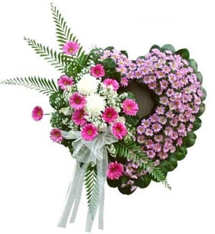 vòng hoa viếng HK-020
