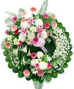vòng hoa viếng HK-025