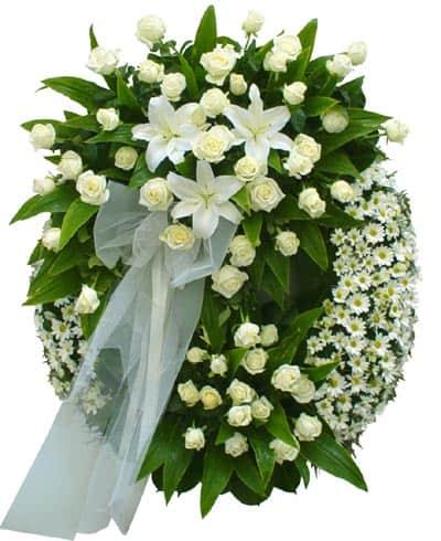 vòng hoa viếng HK-028