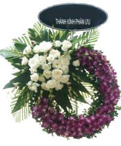 vòng hoa viếng tang lễ HK-031