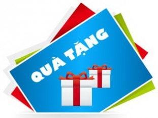 Quà tặng cho những khách hàng thân thiết